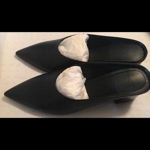 Vince Vero Cuolo Ralston Black Leather 7.5.
